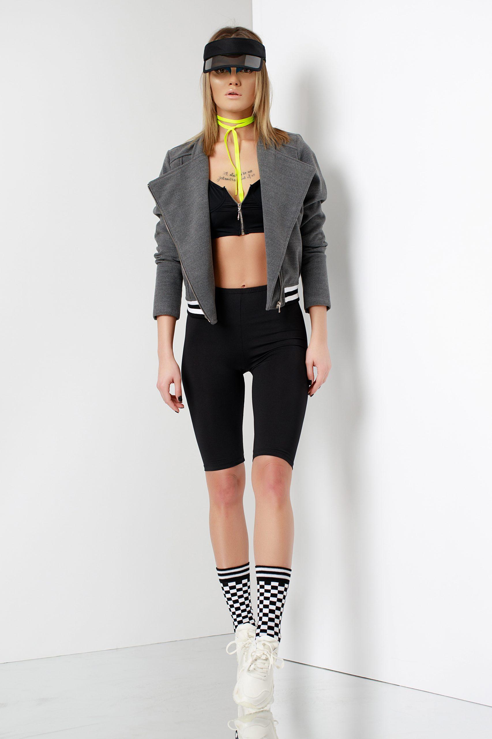 Bomber jacket gri 4